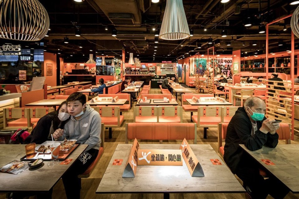 Fairwood restaurant social distancing