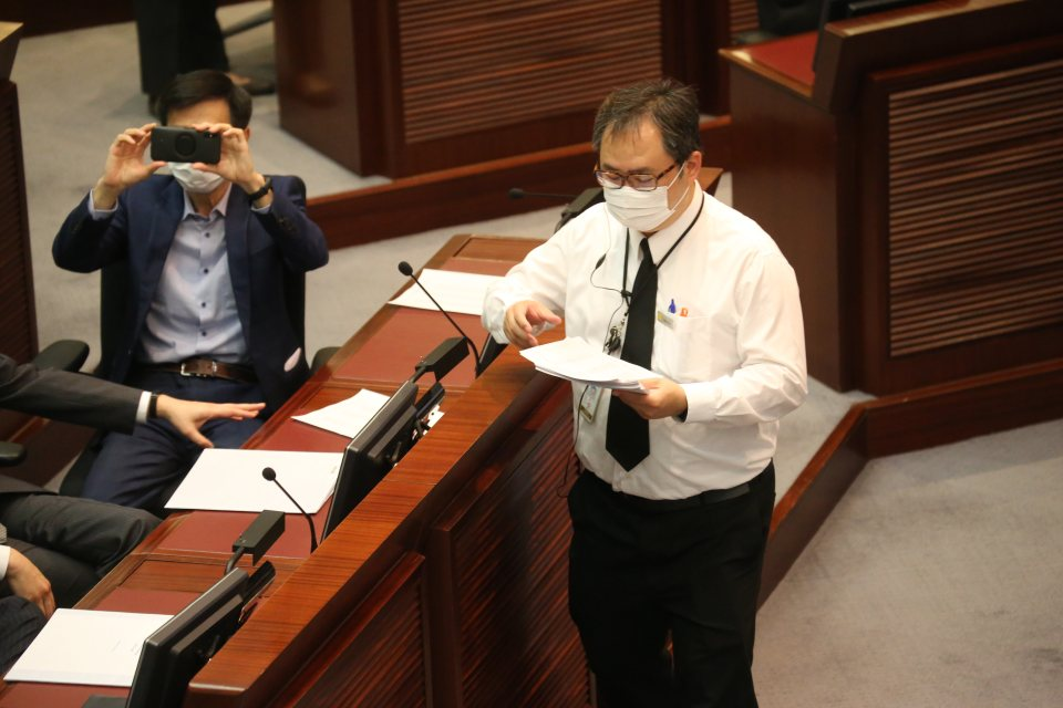 LegCo Chan Kin-por House Committee