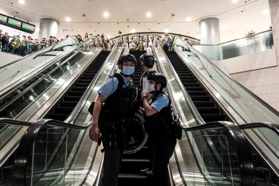 police covid19