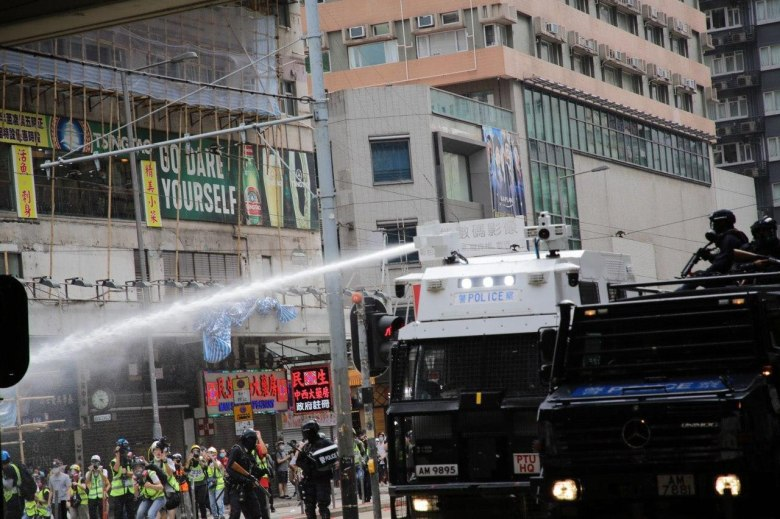 Causeway Bay protest May 24 national security