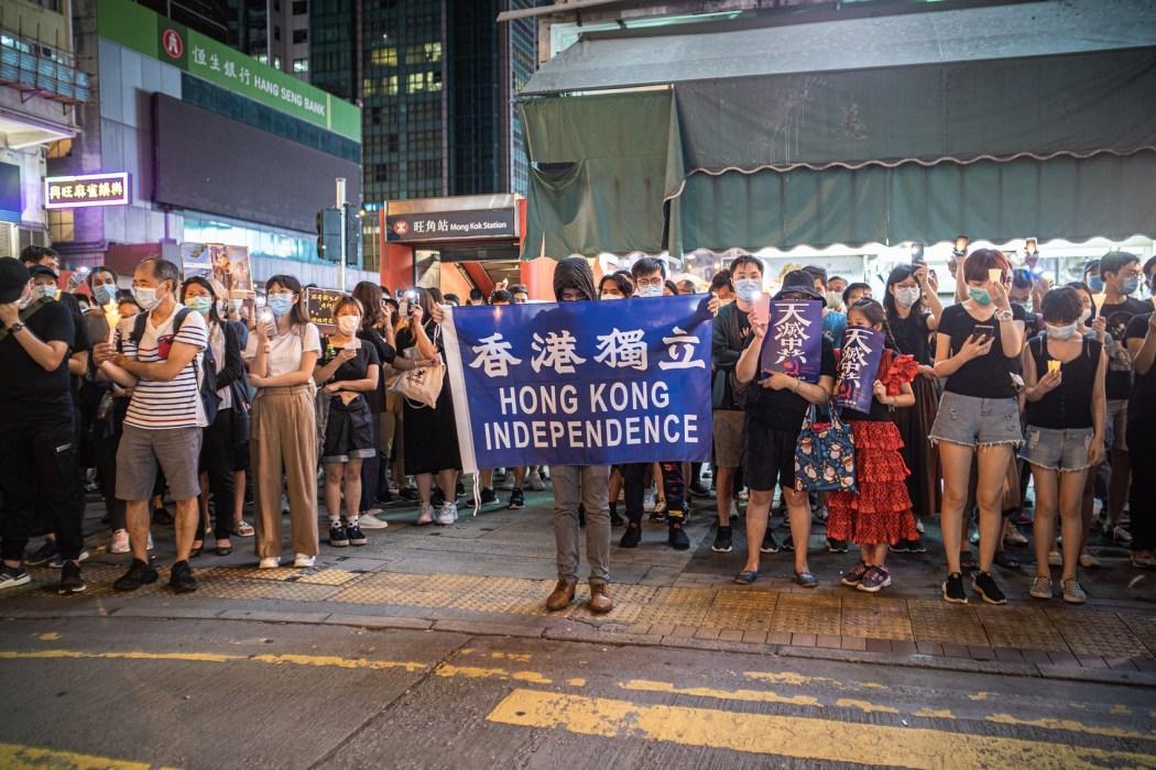tiananmen massacre vigil 31st 2020 june 4 mong kok hong kong independence