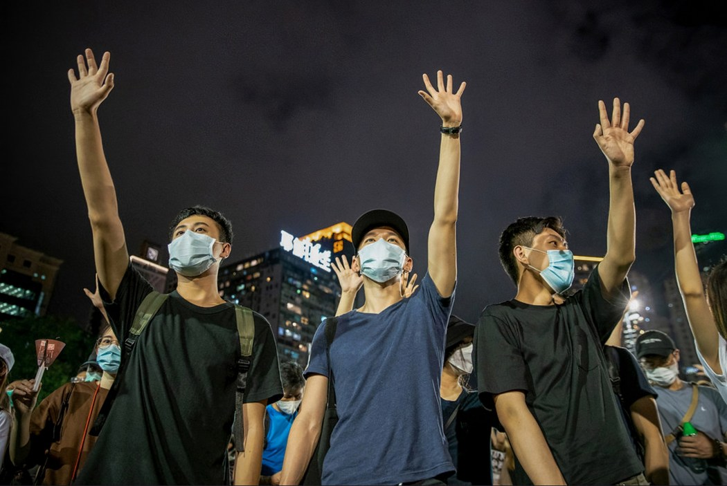 tiananmen massacre vigil 31st 2020 june 4 victoria park five demands