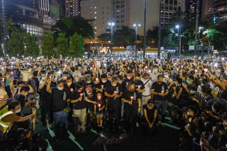 tiananmen massacre vigil 31st 2020 june 4 victoria park