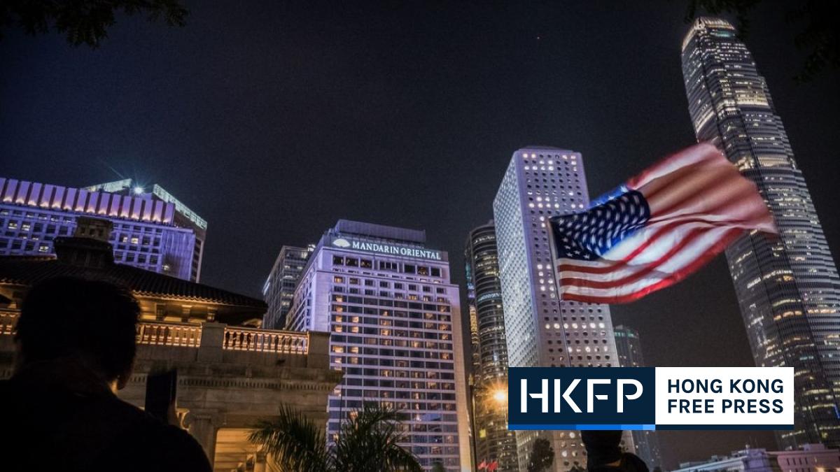 US national security law Hong Kong