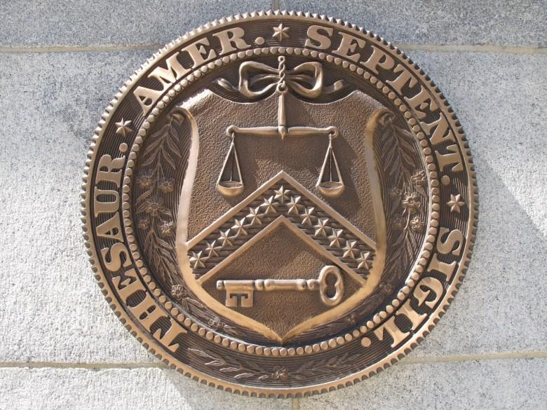 us treasury seal
