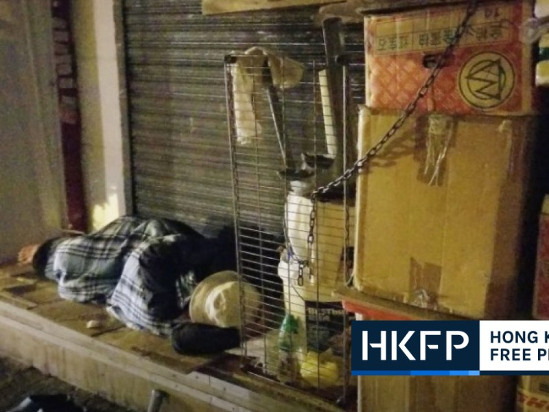 homeless breadline