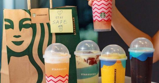 StarBuck優惠 : $20 杯 Teaology ! (21/7)