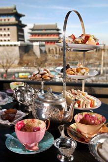 Best afternoon tea a Pékin Capital M
