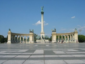 budapest places des héros