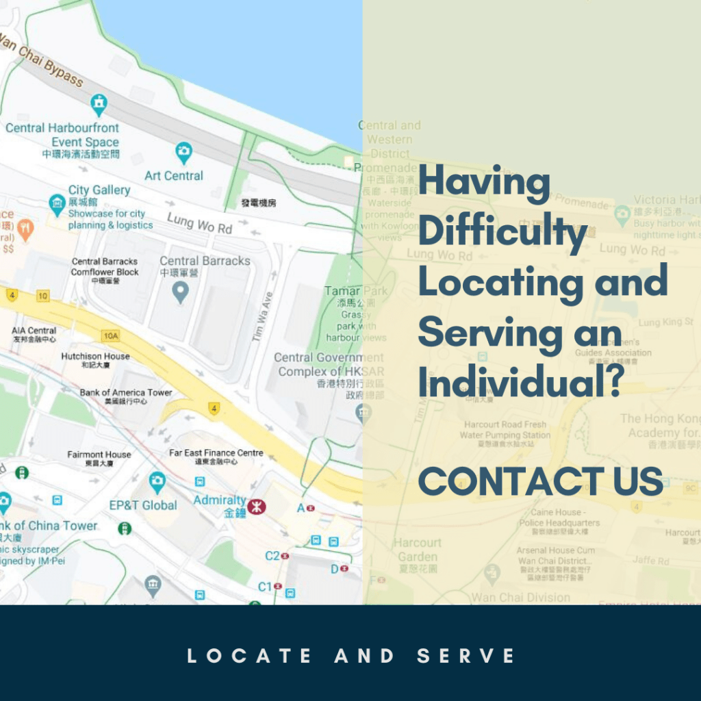 Locate and serve