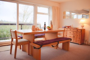 Tamar No 35 dining table with view