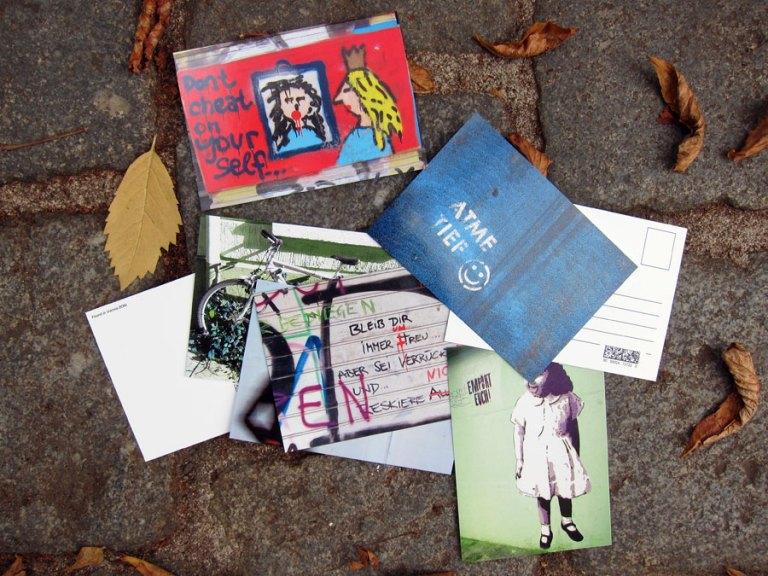Individuelle Grußkarten aus der Stadt