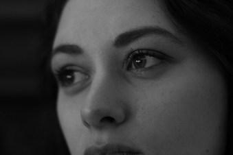 trauriger Blick