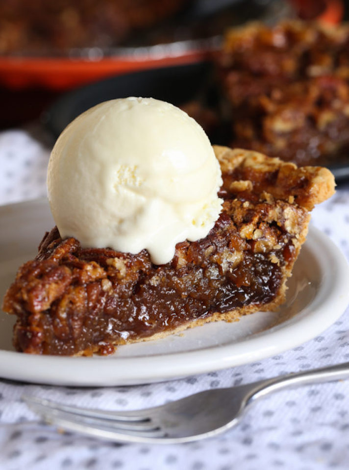STYLECASTER | 17 Classic Pie Recipes That Deserve a Spot on Your Holiday Spread | Pecan Pie