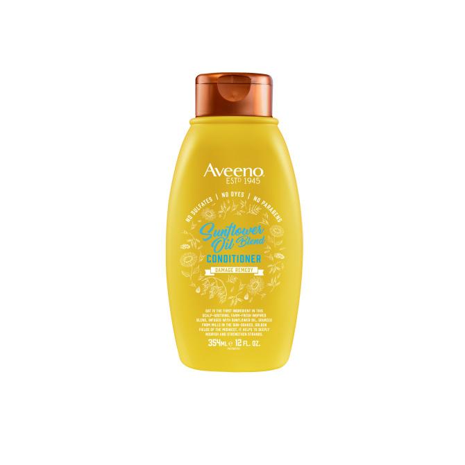 aveeno hair sunflower oil blend