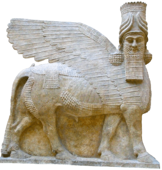 lamassu The Winged Lions