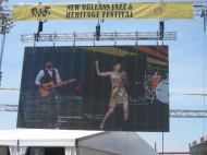 A late comer to the JazzFest photos