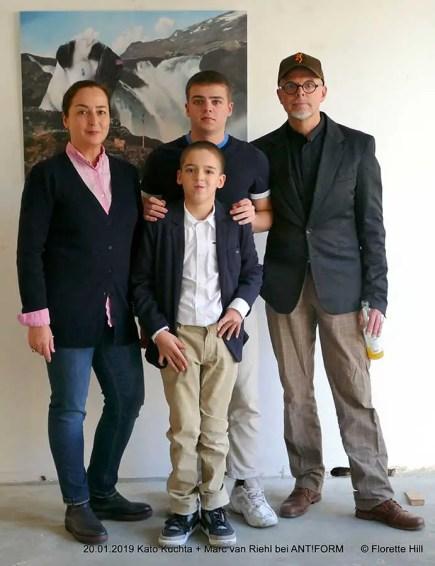 Kato Kuchta mit Familie | Foto: Florette Hill