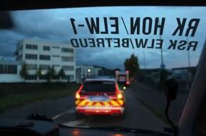 Gemeinsame Uebung 5 - Rettungskräfte Rheinbreitbach und Bad Honnef: Gemeinsam sind wir stark