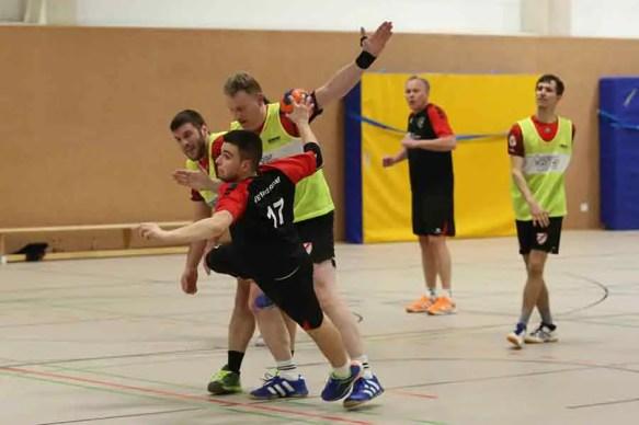 TVE gegen Niederpleis 12 - Klasse, Jungs! Handballer auf dem Weg Richtung Aufstieg