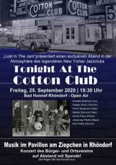 Tonight At The Cotton Club