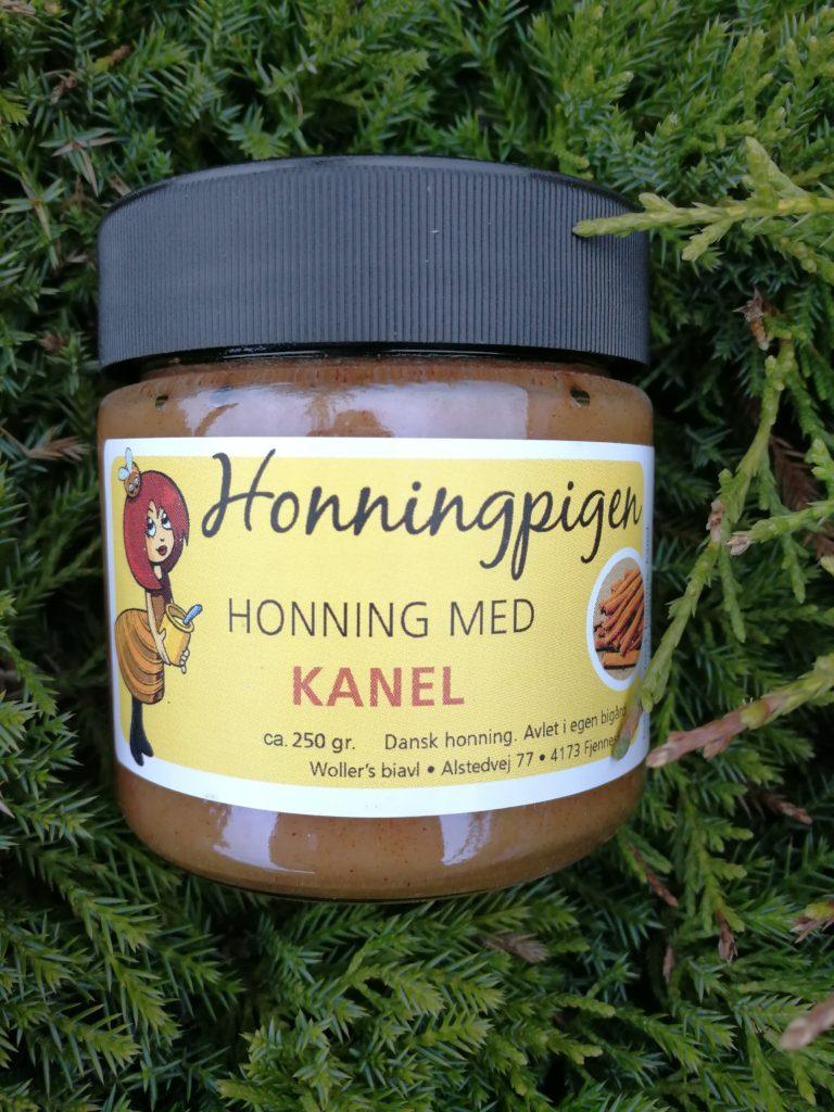Honning med kanel fra Honningpigen