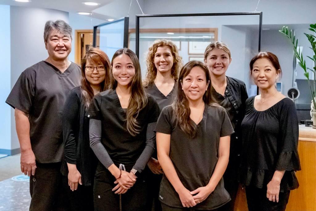 Our dental team at Kaka'ako Smiles
