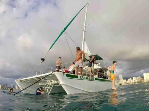 Kahala Kai catamaran