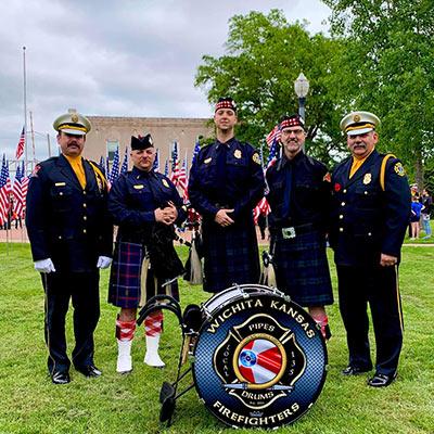 Kansas Firefighter Museum Wichita, KS Honor Walk