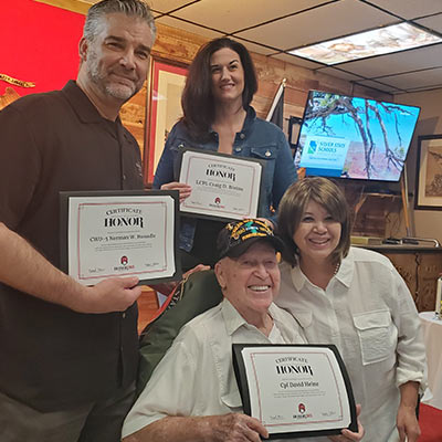 Marine Corps League Leatherneck Club Connect & Honor
