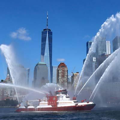 FDNY Marine 1-  9/11 Boatlift 20th Anniversary Tribute