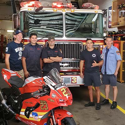 FDNY Engine 23 & HVMC Racing Connect & Honor