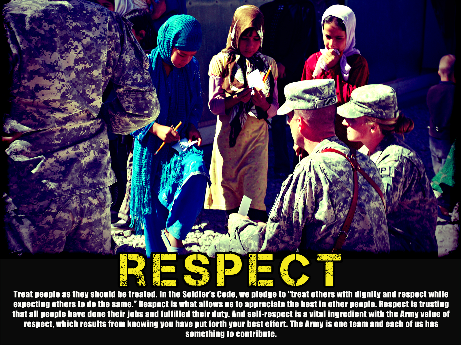 https honordutyvalor com product army values poster respect