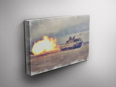 Army Gallery Wrapped Canvas