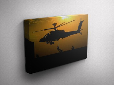 Army Special Forces Gallery Wrapped Canvas