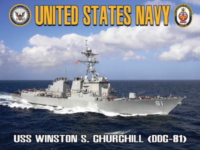 USS Winston S. Churchill