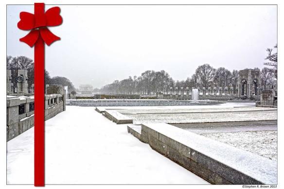 Stephen R. Brown WWII Memorial Winter