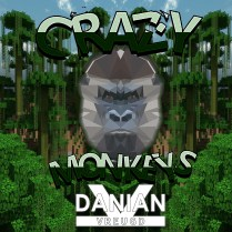 CRAZY MONKEYS - DANIAN VREUGD art