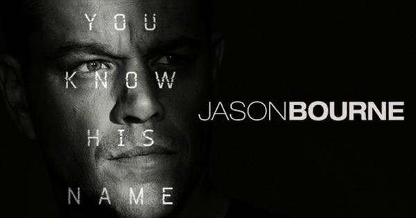 ジェイソン・ボーンを観てきました
