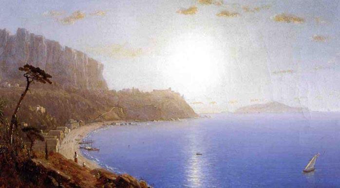 La Marina Grande, Capri: 1861