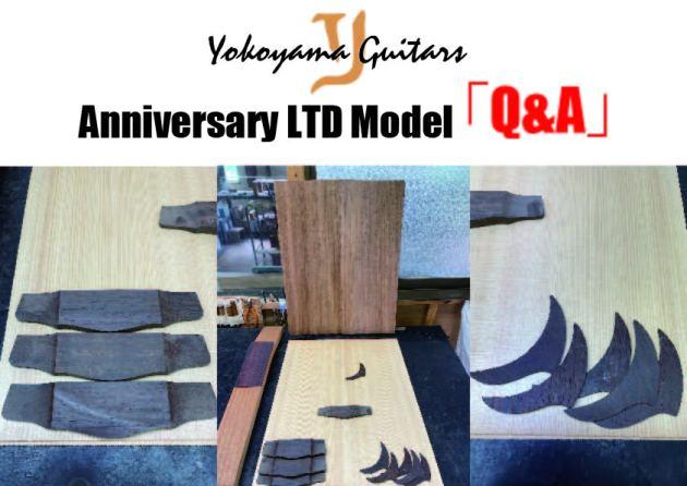 Yokoyama Guitars「アニバーサリー限定モデル」についてのQ&A!