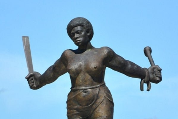 A statue of Carlotta Lucumí in Cuba. Carlotta was an enslavd African woman who led an uprising at the Triumvirato sugar mill in Cuba's Matanzas Province. Her name was later given to Cuba's 1980's operation Black Carlota in Southern Africa, which culminated in the battle of  Cuito Cuanavale that ultimately  lead to the negotiations that ended Apartheid.