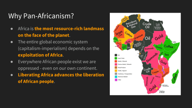 Africa is the most resource rich landmass on the face of the planet.
