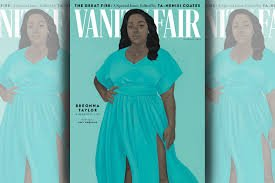 Breonna Taylor on the cover of Vanity Fair - an example of the anti-racist economy