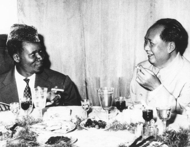 Sekou Ture and Mao Tse Tung