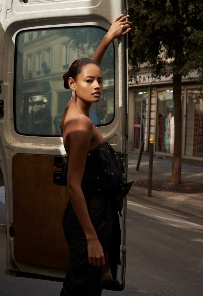 Malaika Firth for L'Officiel Switzerland. Photographed by Olivia Frolich.