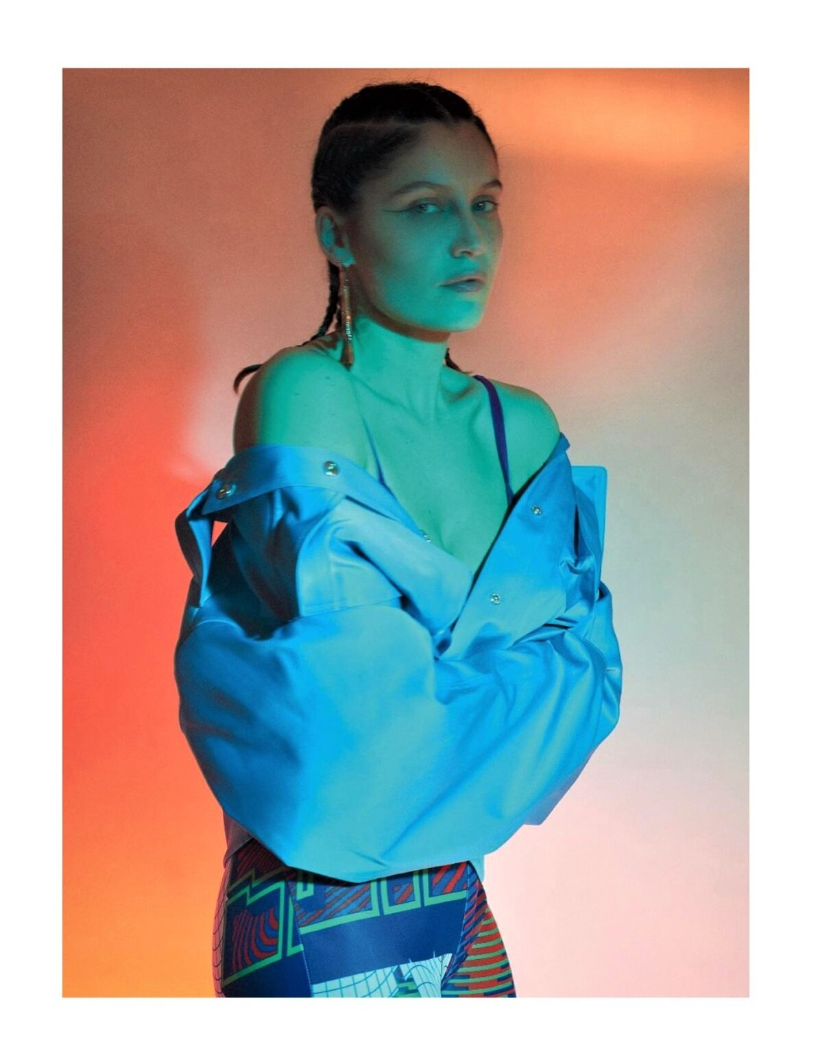 Laetitia Casta for Numéro Magazine #213 'Corps' May 2020 issue. Photographed by Emmanuel Giraud and styled by Barbara Loison.