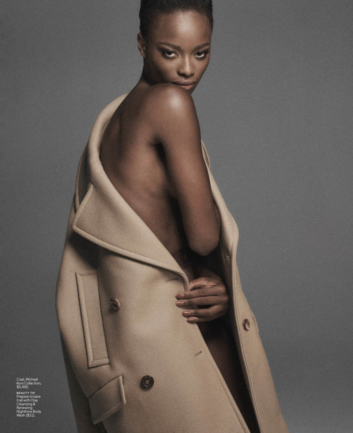 Mayowa Nicholas for ELLE US September 2021. Photographed by Chris Colls and styled by Alex White.