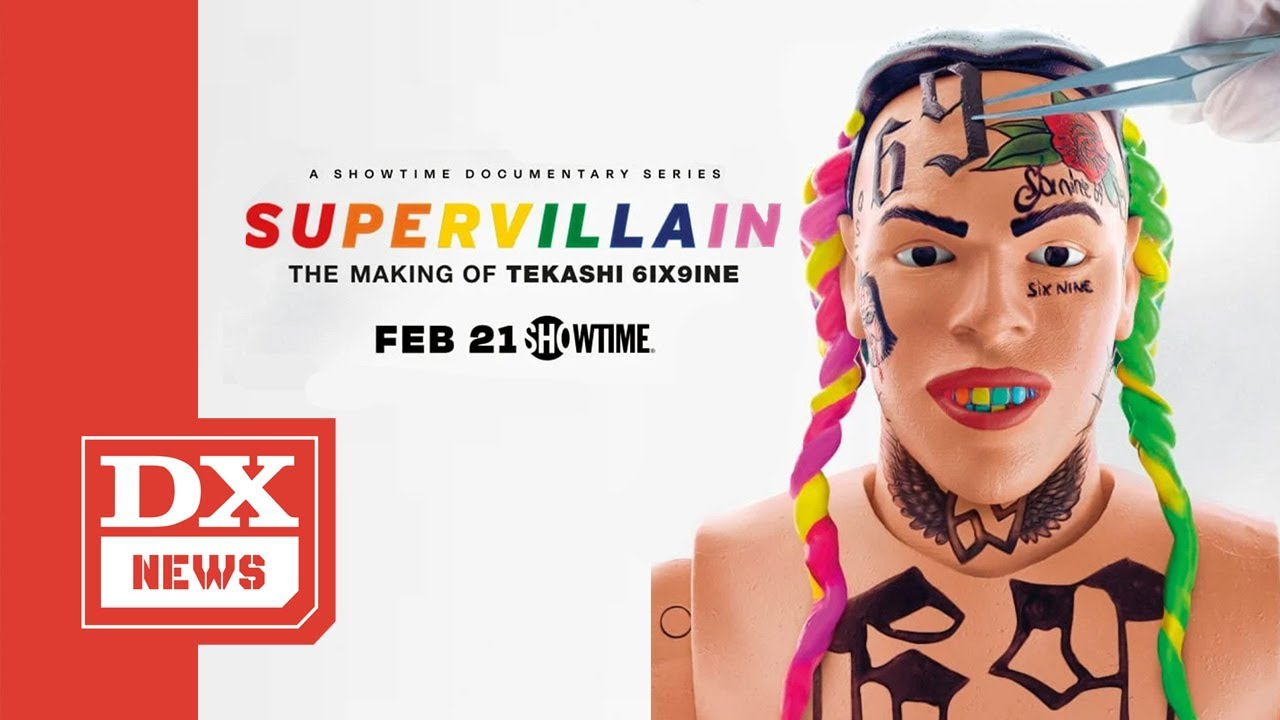 6ix9ine Has Proclaimed 'Hip Hop Legend' Status — & SHOWTIME Is Amplifying The Message
