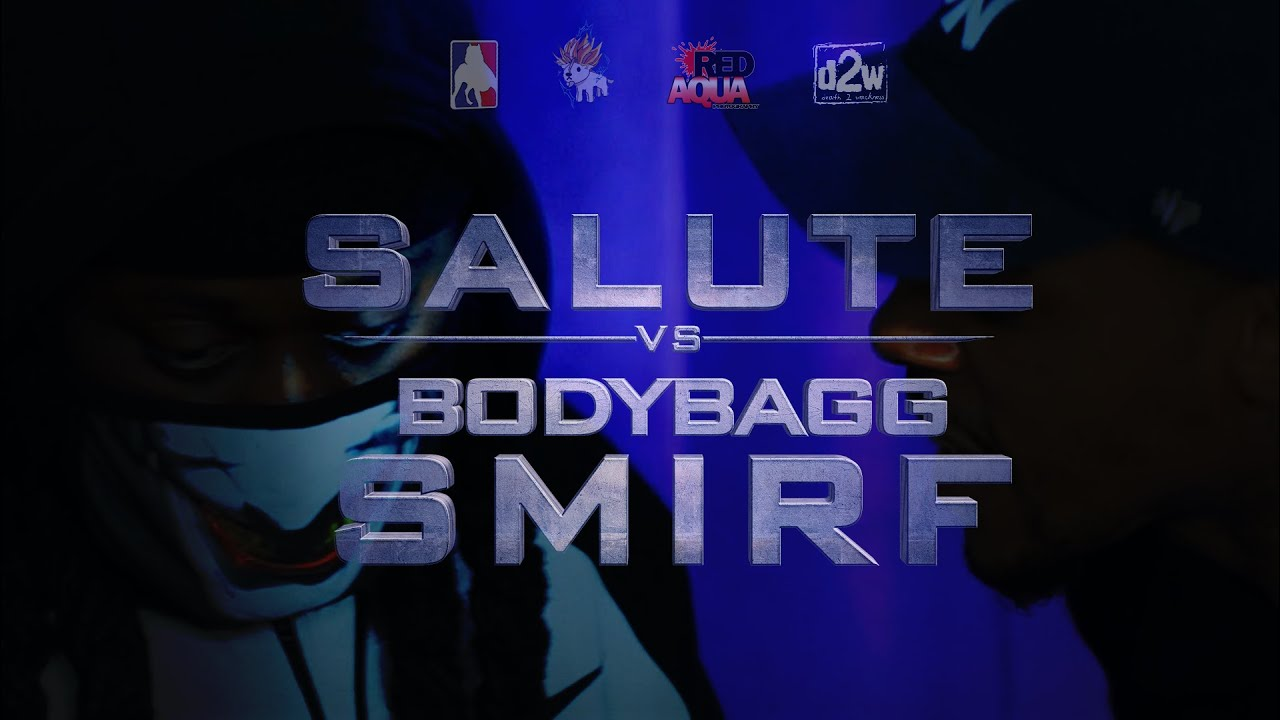 Salute vs Bodybagg Smirf | Pit Fights Battle League | 2021 Rap Battle